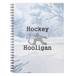 TOP Hockey Hooligan Notebook