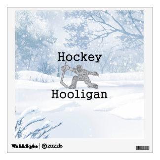 TOP Hockey Hooligan Wall Decal