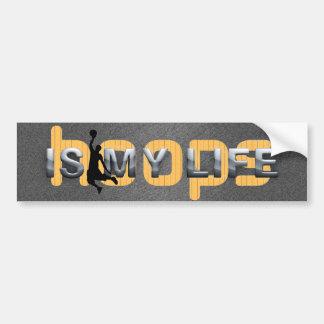 TOP Hoops Is My Life Bumper Sticker