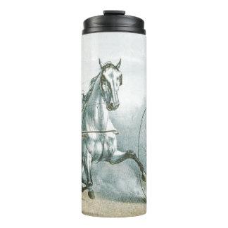 TOP Horse Poetry Thermal Tumbler