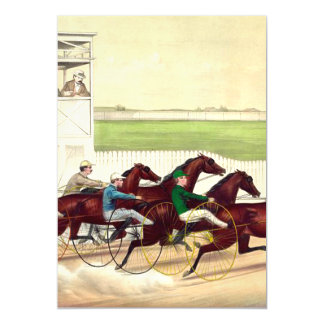 TOP Horse Racing is My Life Magnetic Invitations