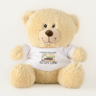 TOP Horse Racing Is My Life Teddy Bear