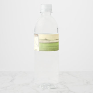 TOP Horse Racing Is My Life Water Bottle Label