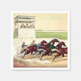 TOP Horse Racing Life Paper Napkin