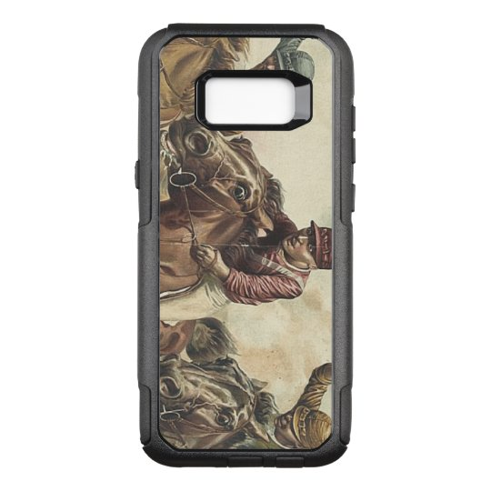 TOP Horse Racing OtterBox Commuter Samsung Galaxy S8+ Case