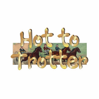TOP Hot to Trotter Standing Photo Sculpture
