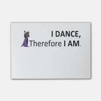 TOP I Dance Therefore I Am Post-it® Notes