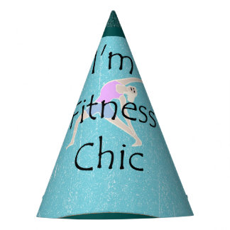 TOP I'm Fitness Chic Party Hat