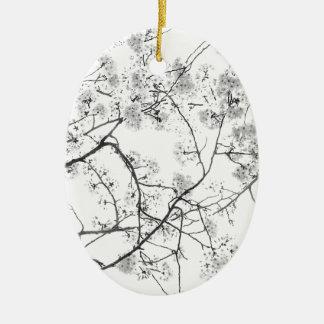 """Top japan modern art photographer kouno kazuhira Ceramic Oval Ornament"