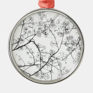 """Top japan modern art photographer kouno kazuhira Silver-Colored Round Ornament"
