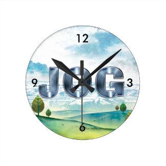 TOP Jog Wall Clock