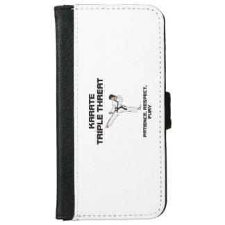 TOP Karate Slogan iPhone 6 Wallet Case