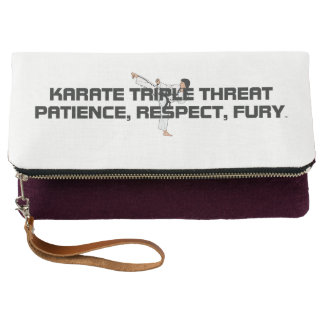 TOP Karate Triple Threat Clutch