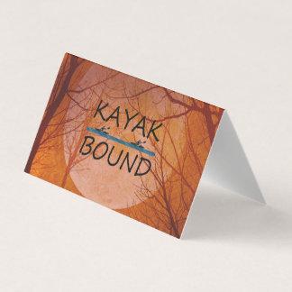 TOP Kayak Bound Business Card
