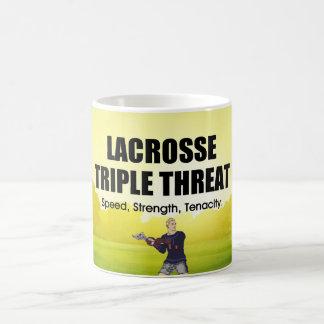 TOP Lacrosse Triple Threat Coffee Mug
