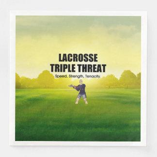 TOP Lacrosse Triple Threat Disposable Napkin