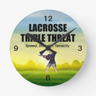TOP Lacrosse Triple Threat Round Clock