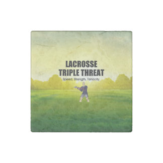 TOP Lacrosse Triple Threat Stone Magnets