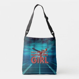 TOP Martial Arts Girl Crossbody Bag
