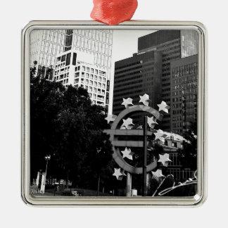 """Top modern photographer akagi masaharu azusa "" Silver-Colored Square Ornament"