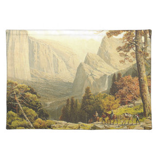 TOP Mountain Hike Placemat