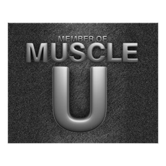 TOP Muscle University Print
