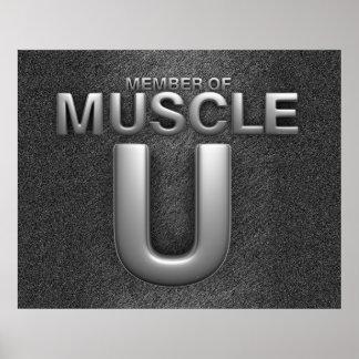 TOP Muscle University Print