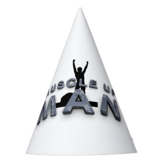 TOP Muscle Up Man Party Hat