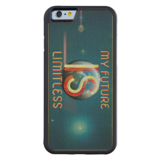 TOP My Future Is Limitless Carved Maple iPhone 6 Bumper Case