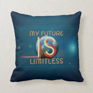 TOP My Future Is Limitless Throw Pillow