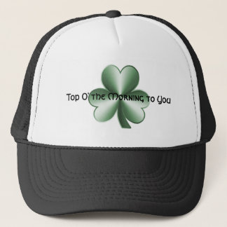 Top O' the Morning to You - Shamrock Hat
