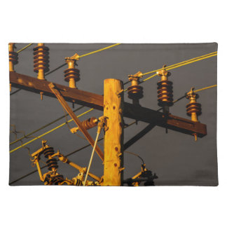 Top of a Power Pole Placemat