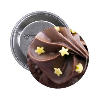 Top of Cupcake 2 Inch Round Button