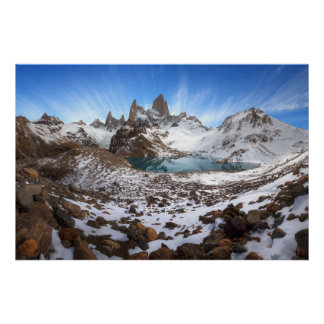 Top Of Fitz Roy Poster