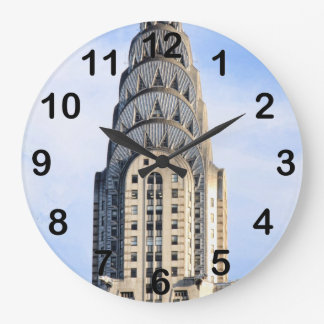 Top of the Chrysler Building NYC Clock