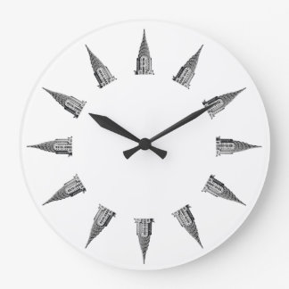 Top of the Chrysler Building Wall Clocks