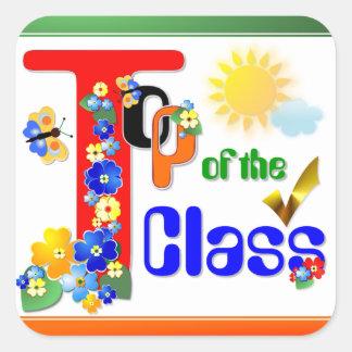 Top of the Class Award Sticker 3