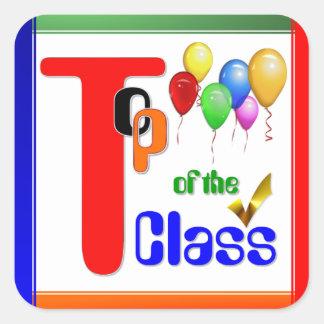 Top of the Class Award Sticker 4