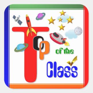 Top of the Class Award Sticker 5