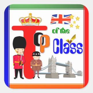 Top of the Class ~ UK  School Award Sticker