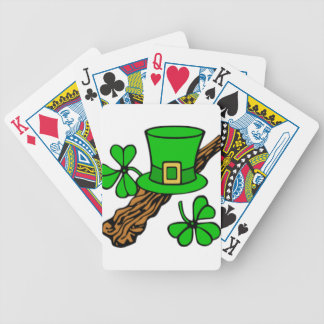top of the morning to ye bicycle playing cards
