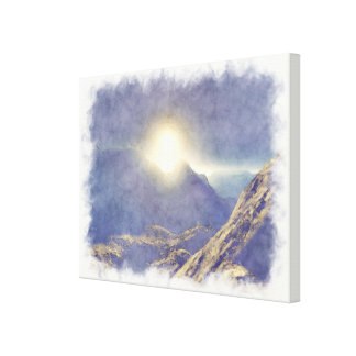 Top of The World Gallery Wrapped Canvas