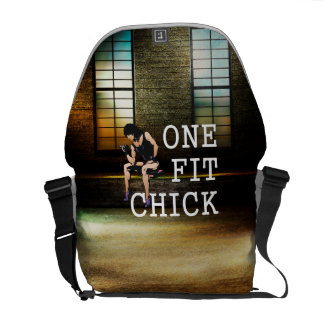TOP One Fit Chick Courier Bags