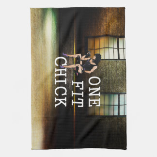 TOP One Fit Chick Kitchen Towel