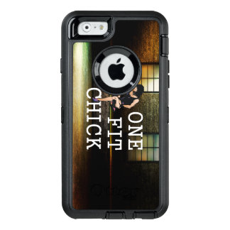 TOP One Fit Chick OtterBox Defender iPhone Case
