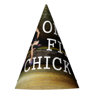 TOP One Fit Chick Party Hat