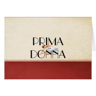 TOP Prima Donna Card