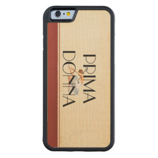 TOP Prima Donna Carved Maple iPhone 6 Bumper Case