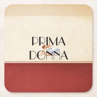 TOP Prima Donna Square Paper Coaster
