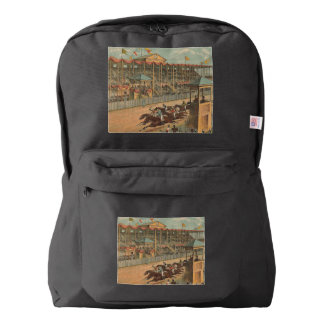 TOP Race Day at the Track Backpack
